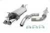 VW NEW BEETLE - SIMONS CAT BACK EXHAUST SYSTEM Ø 63.5MM