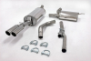 AUDI A4 B5 - SIMONS CAT BACK EXHAUST SYSTEM Ø 63.5MM