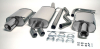 AUDI A4 8H CONVERTIBLE - SIMONS DUPLEX CAT BACK EXHAUST SYSTEM