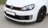 VW GOLF 6 GTI - CARBON FRONT BUMPER LIP SPOILER