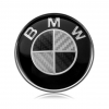 BMW - STEERING CARBON BADGE (45MM)