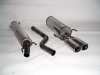 OPEL ASTRA G COUPE - CAT BACK EXHAUST SYSTEM Ø 63.5MM
