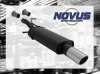 CITROEN C4 COUPE - NOVUS SPORT EXHAUST 1 x Ø 90MM SR