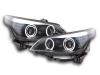 BMW E61 -2004 - XENON SCHEINWERFER ANGEL EYES (D2S)