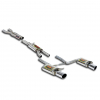 AUDI S4 B6 8E - STAINLESS STEEL CAT BACK EXHAUST SYSTEM