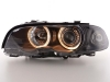 BMW E46 COUPE -04.2003 - HEADLIGHTS ANGEL EYES (DEPO)