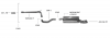 AUDI A1 - BASTUCK OPF BACK EXHAUST SYSTEM Ø 63MM