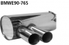 BMW 325i - CAT BACK SPORT SPORT EXHAUST SYSTEM