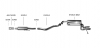 HYUNDAI VELOSTER - BASTUCK CAT BACK EXHAUST SYSTEM Ø 63.5MM