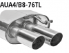 AUDI A5 B8 CONVERTIBLE - BASTUCK SPORT EXHAUST Ø 63MM