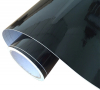 BLACK GLOSS VINYL WRAP STICKER 1.52Mx0.5M