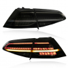 VW GOLF 7.5 GTI - LED LIGHTBAR REAR LIGHTS FACELIFT STYLE (DYNAM