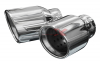BULL-X 100MM STAINLESS STEEL CHROM TAILPIPES HGERBX101G