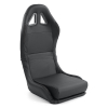 FOLDABLE SPORT BUCKET SEAT SYNTHETIC LEATHER
