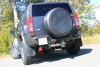 HUMMER H3 - FOX DUPLEX SPORT EXHAUST (CROSS)