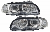BMW E46 -04.2003 - ANGEL EYES SCHEINWERFER (DEPO)