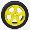 SPRAY FILM FOR RIMS - YELLOW GLOSSY