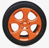 SPRAY FILM FOR RIMS - ORANGE GLOSSY