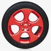 SPRAY FILM FOR RIMS - RED GLOSSY
