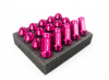 LEGALONE RACING NUTS M12X1.5 PINK | 20 PCS