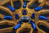 LEGALONE RACING NUTS M12X1.25 BLUE | 20 PCS