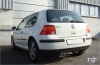 VW GOLF 4 - FOX SPORT EXHAUST