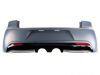 VW GOLF 6 - REAR BUMPER R STYLE