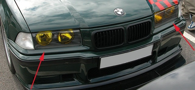 bmw e36 coupe angel eyes schei swiss tuning onlineshop. Black Bedroom Furniture Sets. Home Design Ideas