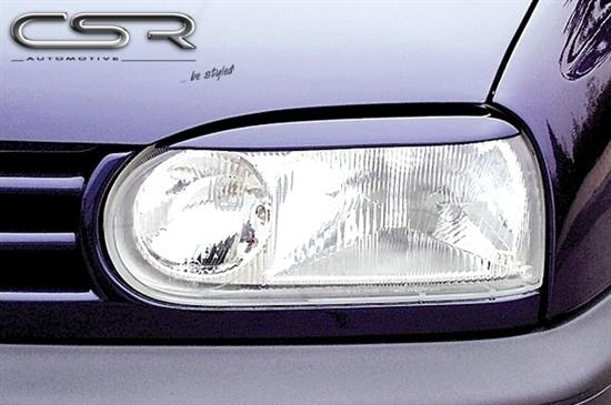 VW Polo 6R Böser Blick Scheinwerferblenden Set Scheinwerfer Blenden Eyebrows