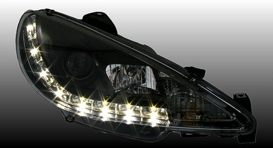 Peugeot 206 Headlights Angel E Peugeot 206 Led