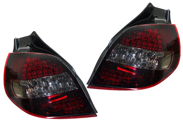 RENAULT CLIO 3 - LED REAR LIGHTS - - RENAULT CLIO 3 - LED REAR LIGHTS online ...