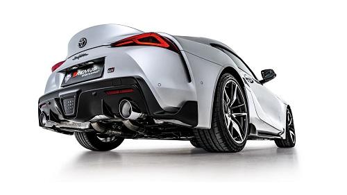 Toyota Supra remus Duplex Sport Exhaust