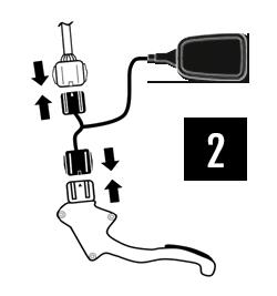 Der einfache Einbau der PedalBox - Schritt 2