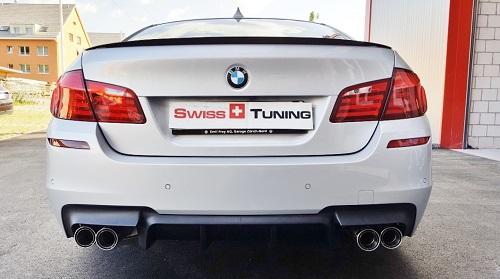 BMW F10 5er Limousine Duplex Remus Sportauspuff