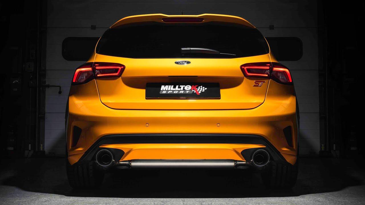Ford Focus RS Millteksport Sportauspuff