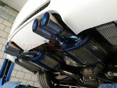 M3 E92 Coupe mit Titan Duplex Sportauspuff System