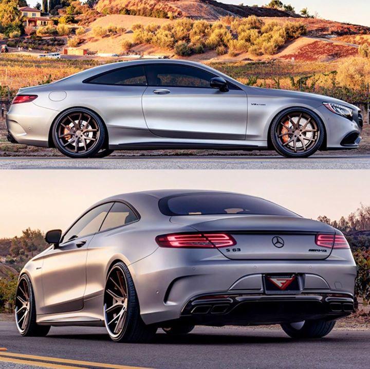 Mercedes S-Klasse Coupe Mustang Vogtland Tieferlegung