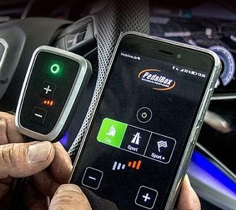 Die neue Pedalbox+ mit Smartphone App Steuerung