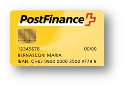 Postfinance Card im Online-Shop der Swiss Tuning AG